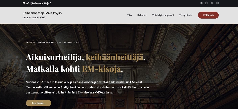Nettisivut avattu!